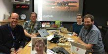 CSR alumni on Mars InSight Navigation Team