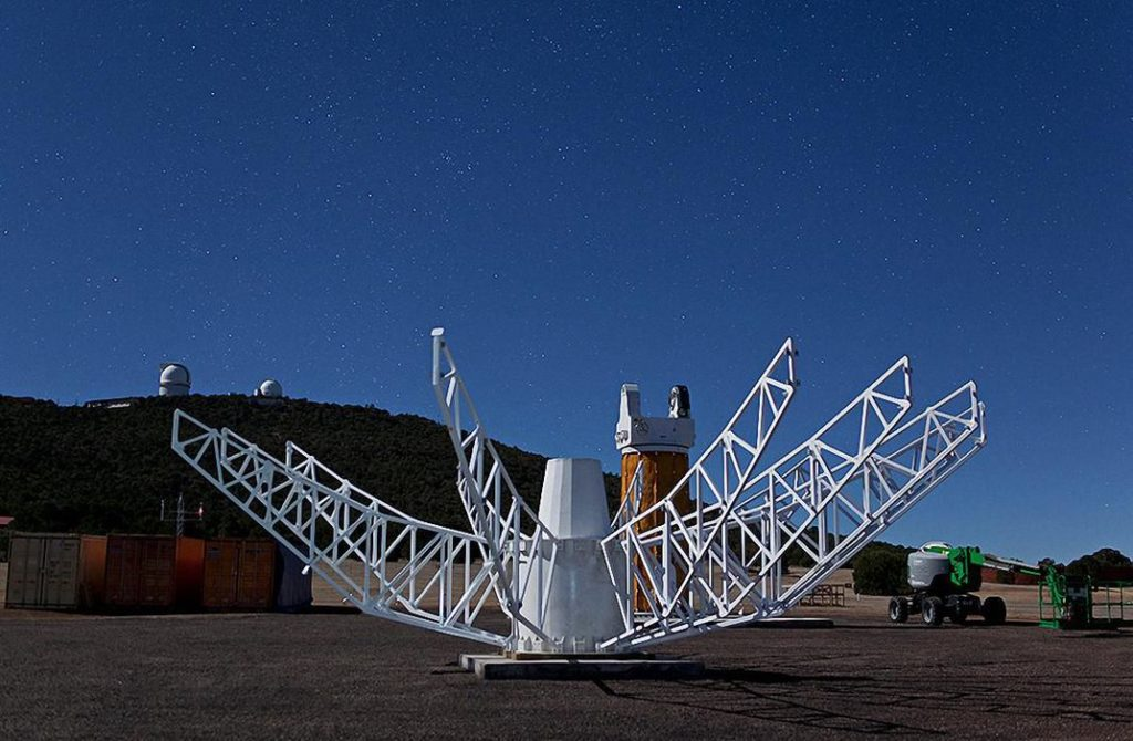 McDonald Observatory in Texas, a new dish was built for VLBI