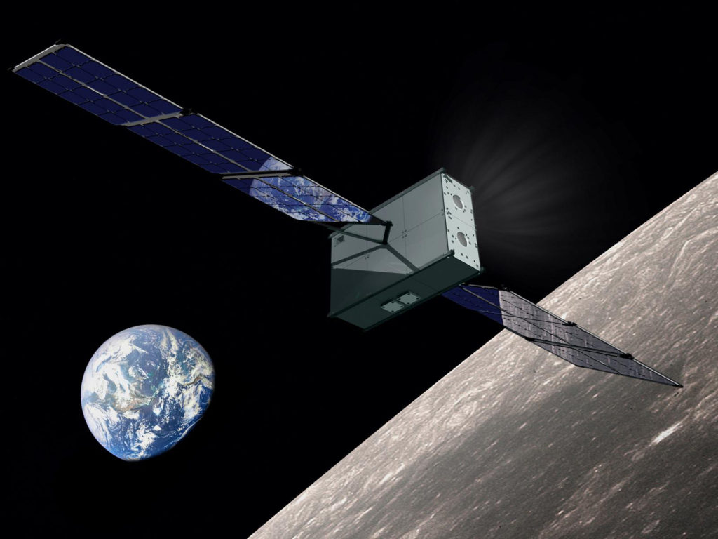 Image of SmallSat spacecraft