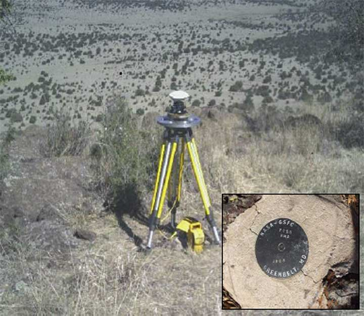 Image of geodetic station