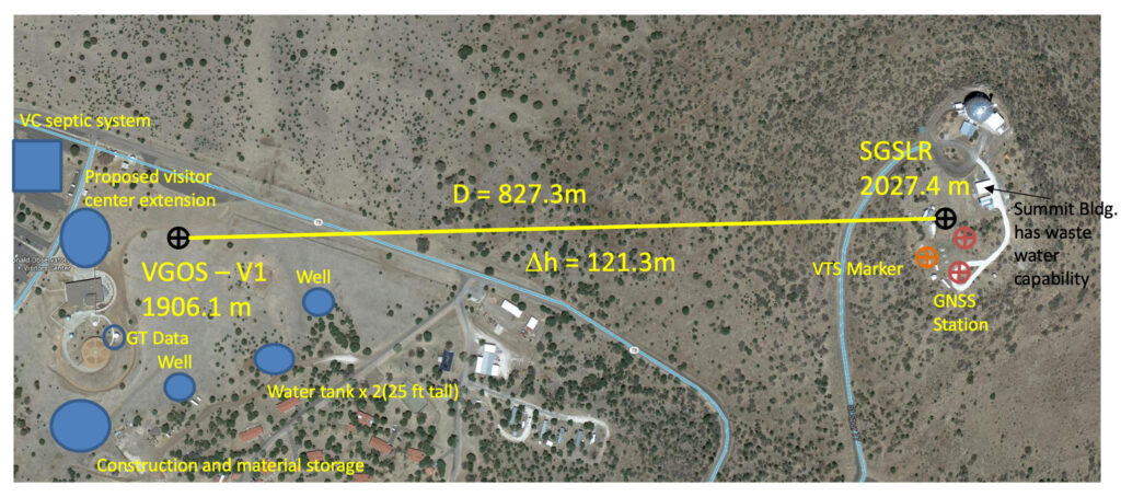 Site map of MGO.